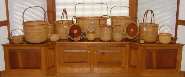 Nantucket Lightship Basket Display
